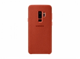 Чехол Samsung для Galaxy S9+ Alcantara Cover Red (EF-XG965AREGRU)