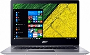"Ноутбук Acer SWIFT 3 (SF314-52G-87DE) (Intel Core i7 8550U 1800 MHz/14""/1920x1080/8Gb/256Gb SSD/DVD нет/NVIDIA GeForce MX150/Wi-Fi/Bluetooth/Linux) Silver (NX.GQUER.003)"