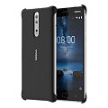 Чехол Nokia для Nokia 8 Soft Touch Black