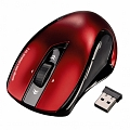 Мышь HAMA Wireless Laser Mouse Mirano Black-Red USB