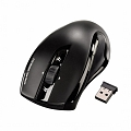 Мышь HAMA Wireless Laser Mouse Mirano Black USB