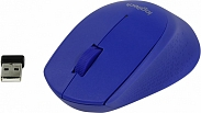 Мышь Logitech Wireless Mouse M280 Blue USB