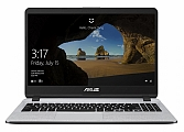 "Ноутбук ASUS X507UB (Intel Core i5 7200U 2500 MHz/15.6""/1920x1080/8Gb/1000Gb HDD/DVD нет/NVIDIA GeForce MX110/Wi-Fi/Bluetooth/Windows 10 Home) Grey (90NB0HN1-M00770)"