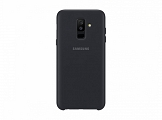 Чехол Samsung для Galaxy A6+ (2018) Layer Cover Black (EF-PA605CBEGRU)