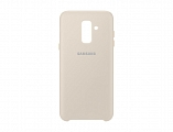 Чехол Samsung для Galaxy A6+ (2018) Layer Cover Gold (EF-PA605CFEGRU)