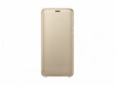 Чехол Samsung для Galaxy J6 (2018) Wallet Cover Gold (EF-WJ600CFEGRU)