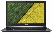"Ноутбук Acer ASPIRE 7 (A717-71G-74LB) (Intel Core i7 7700HQ 2800 MHz/17.3""/1920x1080/8GB/1128GB HDD+SSD/DVD нет/NVIDIA GeForce GTX 1050/Wi-Fi/Bluetooth/Windows 10 Home) Black (NH.GTVER.006)"