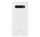 Чехол Samsung для Galaxy S10+ LED Cover White (EF-KG975CWEGRU)