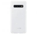 Чехол Samsung для Galaxy S10 LED Cover White (EF-KG973CWEGRU)