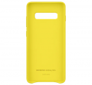 Чехол Samsung для Galaxy S10+ Leather Cover Yellow (EF-VG975LYEGRU)
