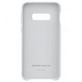Чехол Samsung для Galaxy S10e Leather Cover White (EF-VG970LWEGRU)