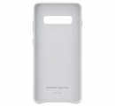 Чехол Samsung для Galaxy S10+ Leather Cover White (EF-VG975LWEGRU)