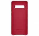 Чехол Samsung для Galaxy S10+ Leather Cover Red (EF-VG975LREGRU)