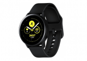 Смарт часы Samsung Galaxy Watch Active SM-R500 Black/Черный Сатин (SM-R500NZKASER)