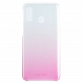 Чехол Samsung для Galaxy A40 Gradation Cover Pink (EF-AA405CPEGRU)
