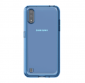 Чехол Samsung для Galaxy A01 Araree Back Cover Blue (GP-FPA015KDALR)