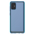 Чехол Samsung для Galaxy A71 Araree Back Cover Blue (GP-FPA715KDALR)