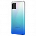Чехол Samsung для Galaxy A51 Wits Gradation Hard Case Blue (GP-FPA515WSBLR)