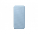 Чехол Samsung для Galaxy S20 LED View Cover l.Blue (EF-NG980PLEGRU)