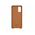 Чехол Samsung для Galaxy S20 Leather Cover Brown (EF-VG980LAEGRU)