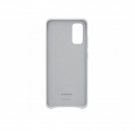 Чехол Samsung для Galaxy S20 Leather Cover Silver (EF-VG980LSEGRU)