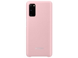 Чехол Samsung для Galaxy S20 LED Cover Pink (EF-KG980CPEGRU)