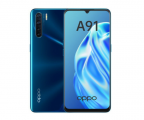Мобильный телефон OPPO A91 8/128GB Blazing Blue/Синий