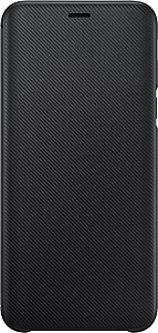 Чехол Samsung для Galaxy J6 (2018) Wallet Cover Black (EF-WJ600CBEGRU)