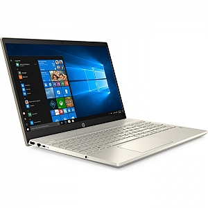 "Ноутбук HP PAVILION 15-cs2002ur (Intel Core i3 8145U 2100 MHz/15.6""/1920x1080/4GB/128GB SSD/DVD нет/Intel UHD Graphics 620/Wi-Fi/Bluetooth/Windows 10 Home) Gold (6PS08EA)"