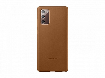 Чехол Samsung для Galaxy Note 20 Leather Cover Brown (EF-VN980LAEGRU)