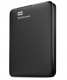 Внешний жесткий диск Western Digital WD Elements Portable 4TB (WDBW8U0040BBK-EEUE) Black