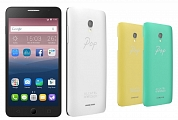 Мобильный телефон Alcatel 5070D POP STAR 4G White/Yellow/Green