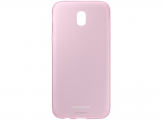 Чехол Samsung для Galaxy J5 (2017) Jelly Cover Pink (EF-AJ530TPEGRU)